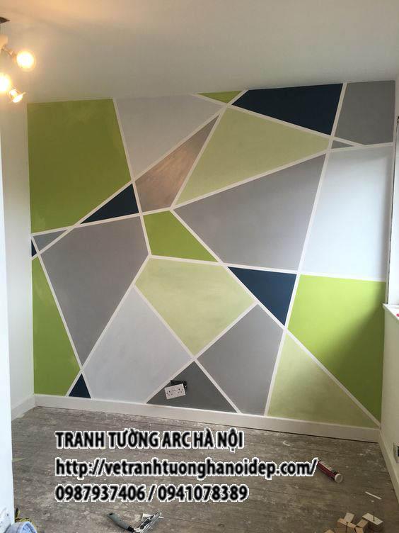 Vẽ tranh tường nội thất -ĐỘC & LẠ MẮT