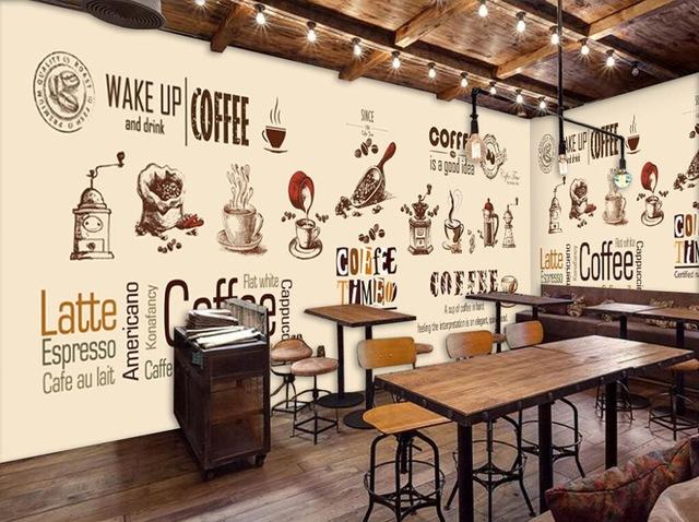 GIÁ VẼ TRANH TƯỜNG QUÁN CAFÉ TẠI HÀ NỘI