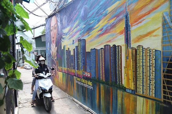 Dịch vụ vẽ tranh tường đẹp
