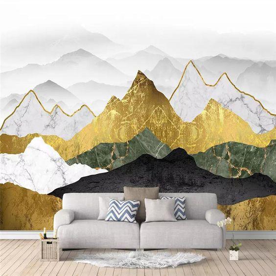 Vẽ tranh tường nội thất